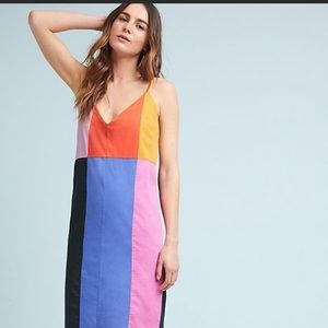 Mara Hoffman Colorblock Dress